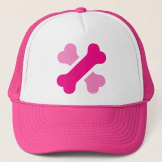 Wowo Dog Bone Cross Logo in Hat