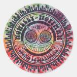 Wowsley-Hoffman Labs Round Sticker