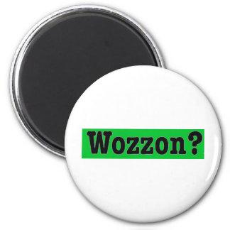 Wozzon600dpi 6 Cm Round Magnet