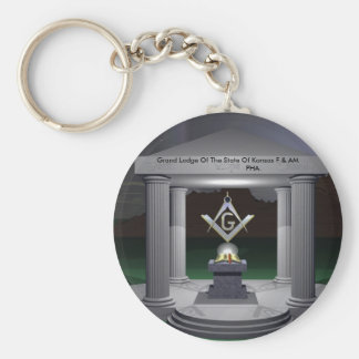WP_3,  Grand Lodge Of The State Of Kansas F & A... Key Ring