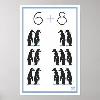 WPA 6+8 Penguins! Poster