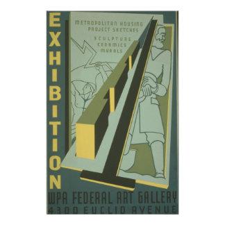 WPA - Art Exhibition 14 Cm X 21.5 Cm Flyer