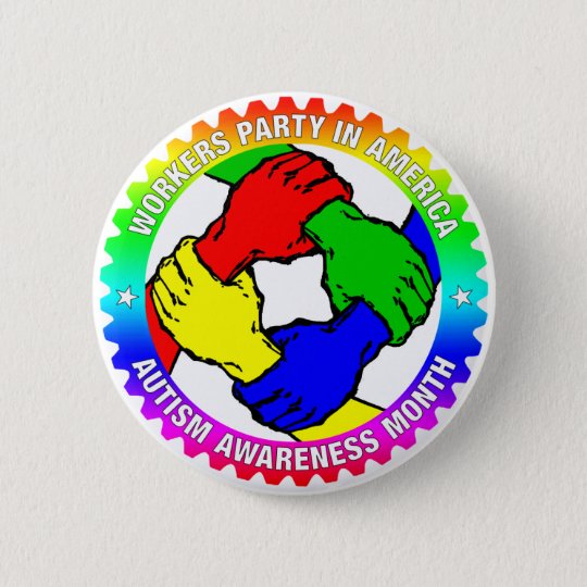 WPA Autism Awareness Month Button