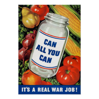 WPA- Can All You Can Poster