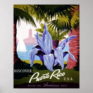 WPA - Discover Puerto Rico Poster