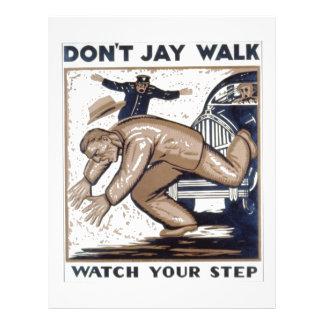 WPA - Jaywalk Full Color Flyer