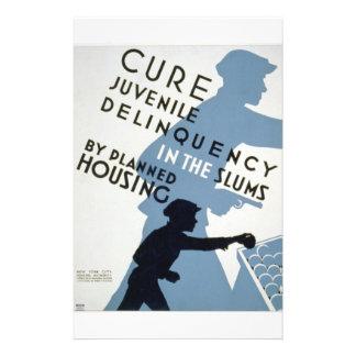 WPA - Juvenile Delinquency Custom Flyer