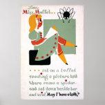 WPA Little Miss Muffet 1936 Poster