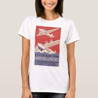 WPA_poster,_ca_New York Municipal Airport T-Shirt