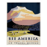 WPA Poster for Travel