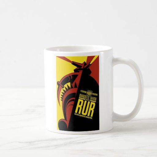 """WPA Posters - """"R.U.R."""" Coffee Mug"""