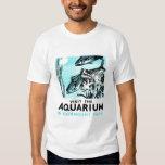 "WPA Posters - ""Visit the Aquarium in Fairmount Par Tshirts"