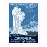 "WPA Posters - ""Yellowstone"" Postcard"