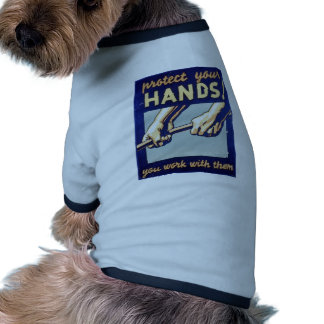 WPA - Protect Your Hands Doggie Tshirt