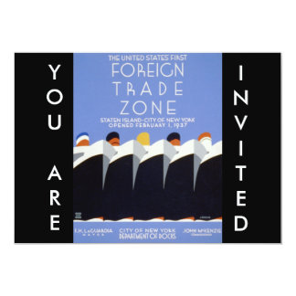 WPA Staten Island New York Poster Announcement