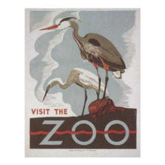 WPA - The Zoo 21.5 Cm X 28 Cm Flyer