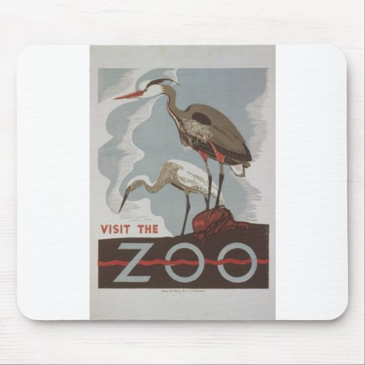 WPA - The Zoo Mouse Pad