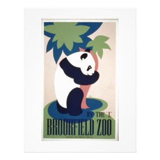 WPA Vintage - Zoo Full Colour Flyer