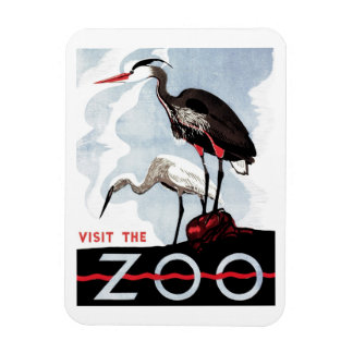 """WPA - """"Visit the Zoo"""" Magnet"""