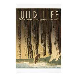 WPA - Wildlife Full Color Flyer