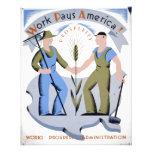 WPA - Work America Personalised Flyer