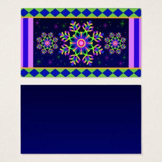WQ Kaleidoscope Business Card Posh Colorful No3