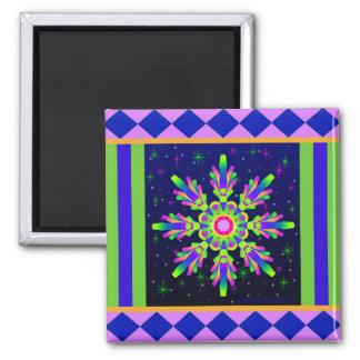 WQ Kaleidoscope Magnet Square Posh Series No. 1