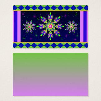 WQ Kaleidoscope Posh Series Business Card No 5