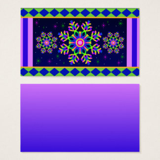 WQ Kaleidoscope Posh Series Business Card No 6