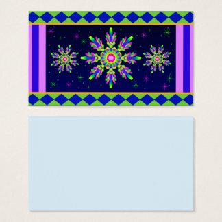 WQ Kaleidoscope Posh Series Business Card No 7