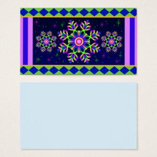 WQ Kaleidoscope Posh Series Business Card No 8