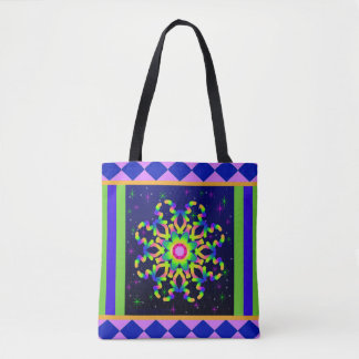 WQ Kaleidoscope Posh Series Tote Bag No 3