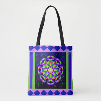 WQ Kaleidoscope Posh Series Tote Bag No 4