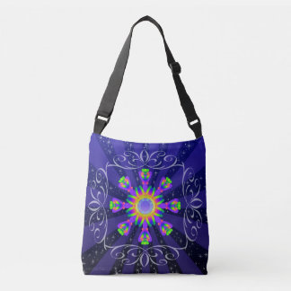WQ Kaleidoscope Shoulder BAg Burst 2 Sides