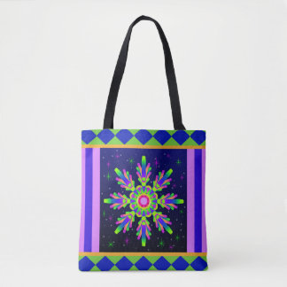 WQ Kaleidoscope Tote Bag Posh Series No1