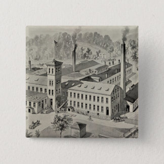 WR Brixey, manufacturer 15 Cm Square Badge