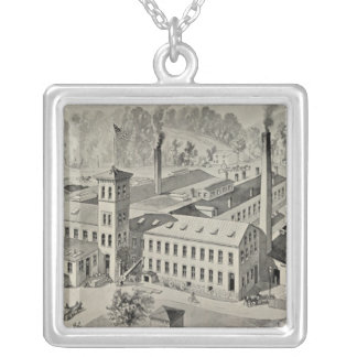 WR Brixey, manufacturer Silver Plated Necklace