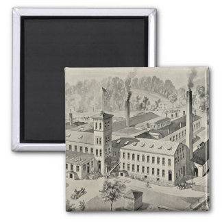 WR Brixey, manufacturer Square Magnet