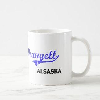 Wrangell Alaska City Classic Basic White Mug