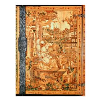 Wrangelschrank Cabinet, 1566 Postcard
