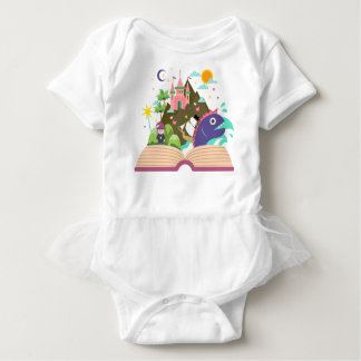 Wrap A Stealing Baby Girl Fairy/Princesse Baby Bodysuit