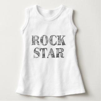 "Wrap baby ""Rock'n'roll Star "" Dress"