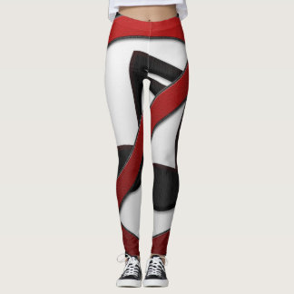 Wrap yourself in LIVER - IN COLOR! Leggings