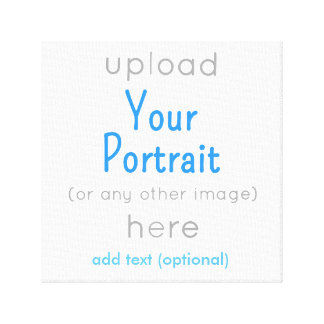 """Wrapped Canvas 12"""" x 12"""" Add your image Stretched Canvas Print"""
