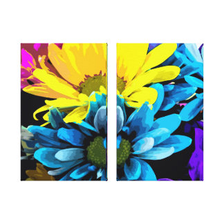 Wrapped Canvas - Bright Blossoms 4740D Stretched Canvas Prints