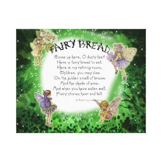 Wrapped Canvas Fairy Bread Gallery Wrap Canvas