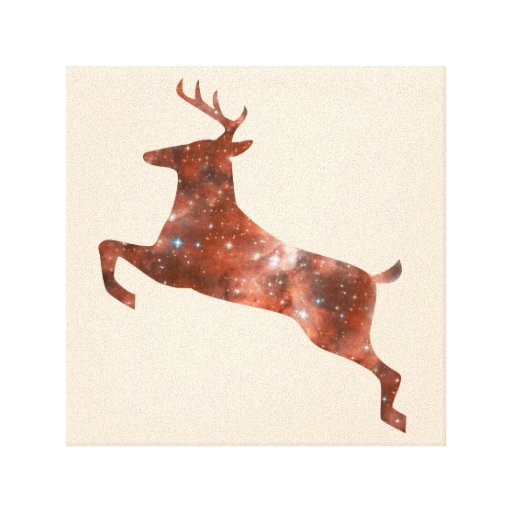 Wrapped Canvas Mystic Deer Gallery Wrap Canvas