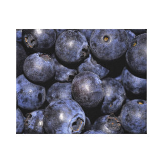 "Wrapped Canvas Photograph-""Blueberries"" Gallery Wrap Canvas"