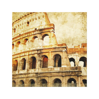 Wrapped Canvas Print - Ancient Roman Arena Motive