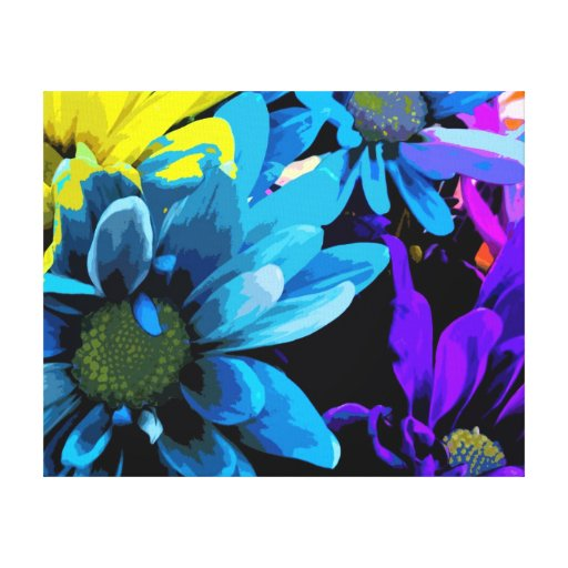 Wrapped Canvas Print - Bright Blossoms 4724D